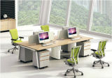 現代様式の優れたスタッフの区分ワークステーション事務机(PM-019)