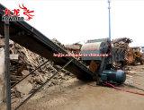 Fácil reemplazo de la hoja de trituradoras de reciclado de madera