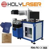 Boîte de papier en plastique de contreplaqué de CO2 Prix de machine de découpage à gravure laser