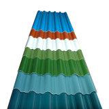 La couleur de l'acier prépeint recouvert de tôle de toit