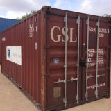 40hc ISO Standard Overseas Marine Shipping Second Hand Container