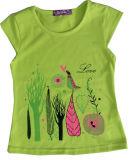 Beautiful Girl T-Shirt Vêtements dans les enfants Vêtements pour enfants avec Print Sgt-082