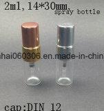 Glaszerstäuber-Feder-Spray-Flasche des duftstoff-15ml