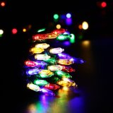 [120ف] [أول] 100 [لد] مصغّرة عيد ميلاد المسيح خيط أضواء لأنّ عيد ميلاد المسيح زخرفة