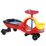 Carro plástico do balanço do bebê do assento do modelo novo com cesta