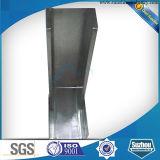 Heller Stahlkiel mit der Innenwand-Partition (Decke) galvanisiert