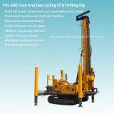plate-forme de forage montée par chenille de puits d'eau de 300m DTH (YDL-300)