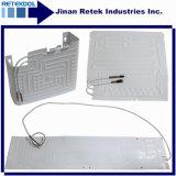 Evaporador de alumínio da ligação do rolo do lado do dobro da placa de Retek