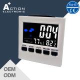 Horloge contrôlée de Tableau de station météorologique de couleur de son