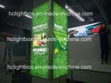 Da tela UV da tensão da tensão de Frameless caixa leve do diodo emissor de luz/caixa leve da tela caixa leve de matéria têxtil