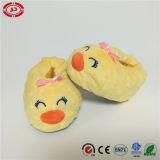 Zapatos de bebé amarillo pato sonrisa cara juguete de pie precioso de juguete