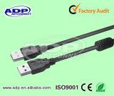 Высокое качество 2 в 1 мужчине к микро- кабелю USB данных
