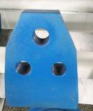 Blindaje de la taladradora del túnel que conduce el cortador de la pieza inserta del carburo de los cortadores del raspador del borde