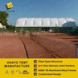 Tienda grande del polígono de Huaye para la corte del deporte (hy238j)