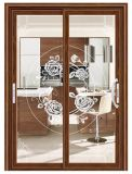 La mejor calidad precios baratos directa de fábrica del bastidor de aluminio plegable acordeón de la puerta de cristal de diseño