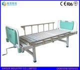 手動病院の家具のステンレス鋼は医学患者の看護のベッドを1揺する