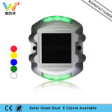 Estilo de borboleta Alumínio Alloy Park Fountain Light Solar Road Stud