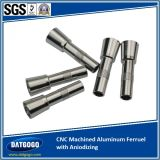 CNC Machined Aluminum Ferrule con Aniodizing