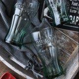 코카콜라 유리제 컵 기념 컵 유리제 선전용 선물 컵