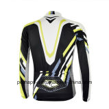 Изготовленный на заказ Long Sleeve Cycling Shirt с Sublimation Print