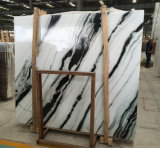 Marbre de marbre blanc de blanc de Guobao de brame de panda grand