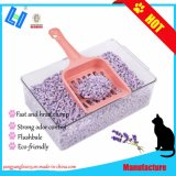 Venta caliente Tofu arena de gato con aroma a lavanda y rápido de racimos