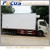China Maker Dongfeng Cold Van Freezer Vehicle Refrigerator Truck