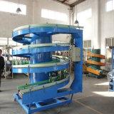 Edelstahl-Schrauben-vertikales Höhenruder/vibrierende gewundene Förderanlage für das granulierte anhebende Material und