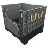 grande scomparto di plastica pieghevole del pallet 800L per memoria di industria