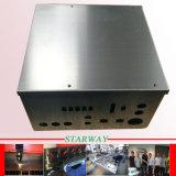 주문을 받아서 만들어진 Laser 절단에 의하여 디스플레이된 선반을%s 판금 제작 내각 및 용접 & Benching
