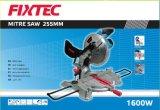 Ferramentas Fixtec 1600W dupla Serra de esquadria para alumínio