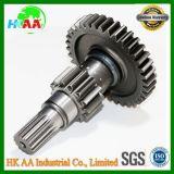 Kundenspezifischer Präzisions-CNC maschinell bearbeiteter Stahl-LKW-Übertragungs-Input-Welle-Hauptantriebs-Gang für Automobil mit Bescheinigung Ts16949