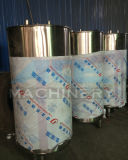 el tanque a granel sanitario del enfriamiento de la leche 1000L