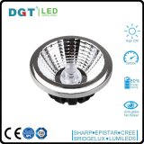 2700k-5000k Optial 12W LED COB AR111 Spot Light