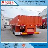 Rimorchio di bassa potenza della parete laterale 2axles di 40FT/del camion goccia laterale/scheda laterale/carico all'ingrosso semi