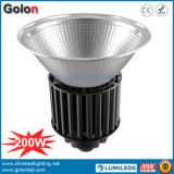 100-277VAC 25 60 90 Réflecteur en aluminium de 120 degrés 1-10 V Graduation 100W 150W 200W LED industrielle High Bay Lamp