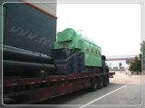 Fonctionnement automatique du charbon//bois tiré de la biomasse 8 tonne chaudière à vapeur