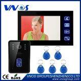 macchina fotografica RFID del citofono del campanello del telefono del portello di tasto di tocco del video di colore 7 video IR