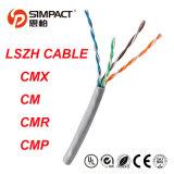 Cable de Lszh Cm/Cmx/Cmr/CMP UL/CE/RoHS UTP Cat5e