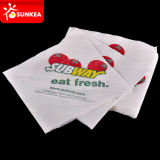 習慣によって印刷されるペーパー夕食ナプキン