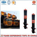 Cylindre hydraulique télescopique de FC pour le camion à benne basculante/remorques