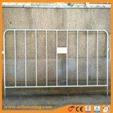 El control de multitudes galvanizado barrera barrera vial