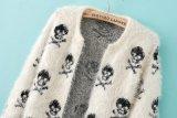 De nieuwe Kleding van de Sweater van de Cardigan anti-Pilling van het Ontwerp Lange Mohair Gebreide