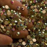 우수한 질 Ss20 8은과 화살 커트 Flatback 모조 다이아몬드 결정 구슬 가열한다