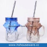 Опарник каменщика питья конструкции Fox ежедневный стеклянный с сторновкой PP, стеклянной бутылкой, стеклянной кружкой, стеклянной чашкой
