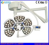 LEIDENE van het enig-Hoofd van het Type van Bloemblaadje van de Apparatuur van het ziekenhuis het Chirurgische Werkende Licht van het Plafond