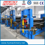 구부리는 W11s-40X4000 유압 강철 플레이트 기계장치 형성