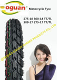 Pneu superior da motocicleta de China do tipo/Tyre275-17 275-18 300-17 300-18