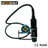 A tocha do mergulho da vasilha de Hoozhu Hu33 com 4000 Lm Waterproof a luz de mergulho de 120m