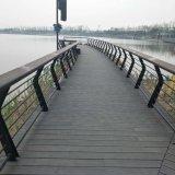 El suelo al aire libre de la seguridad con el suelo de bambú del hilo